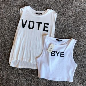 Forever 21 Tank & Crop Top NWT